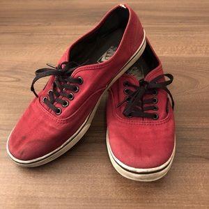 🌵 VANS | Burgundy Shoes